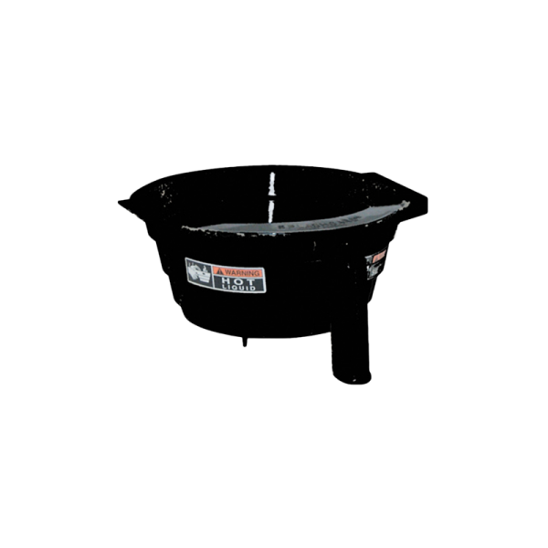 BLACK-PLASTIC-SPLASHGARD-FUNNEL-WITH-DECALS